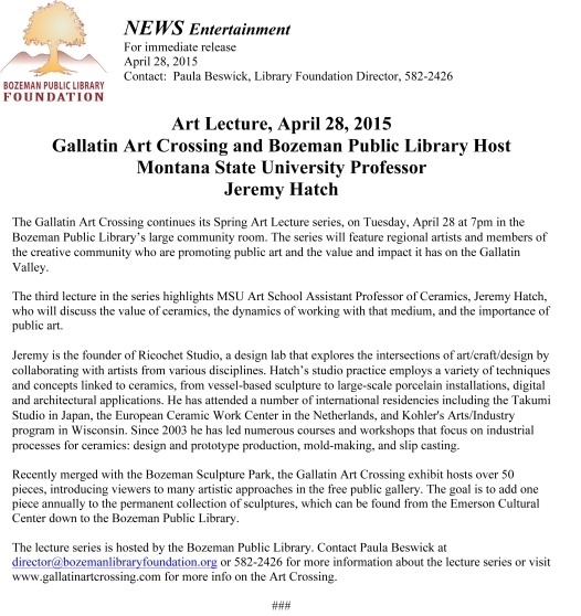 GAC art lecture_Jeremy Hatch 4-2015