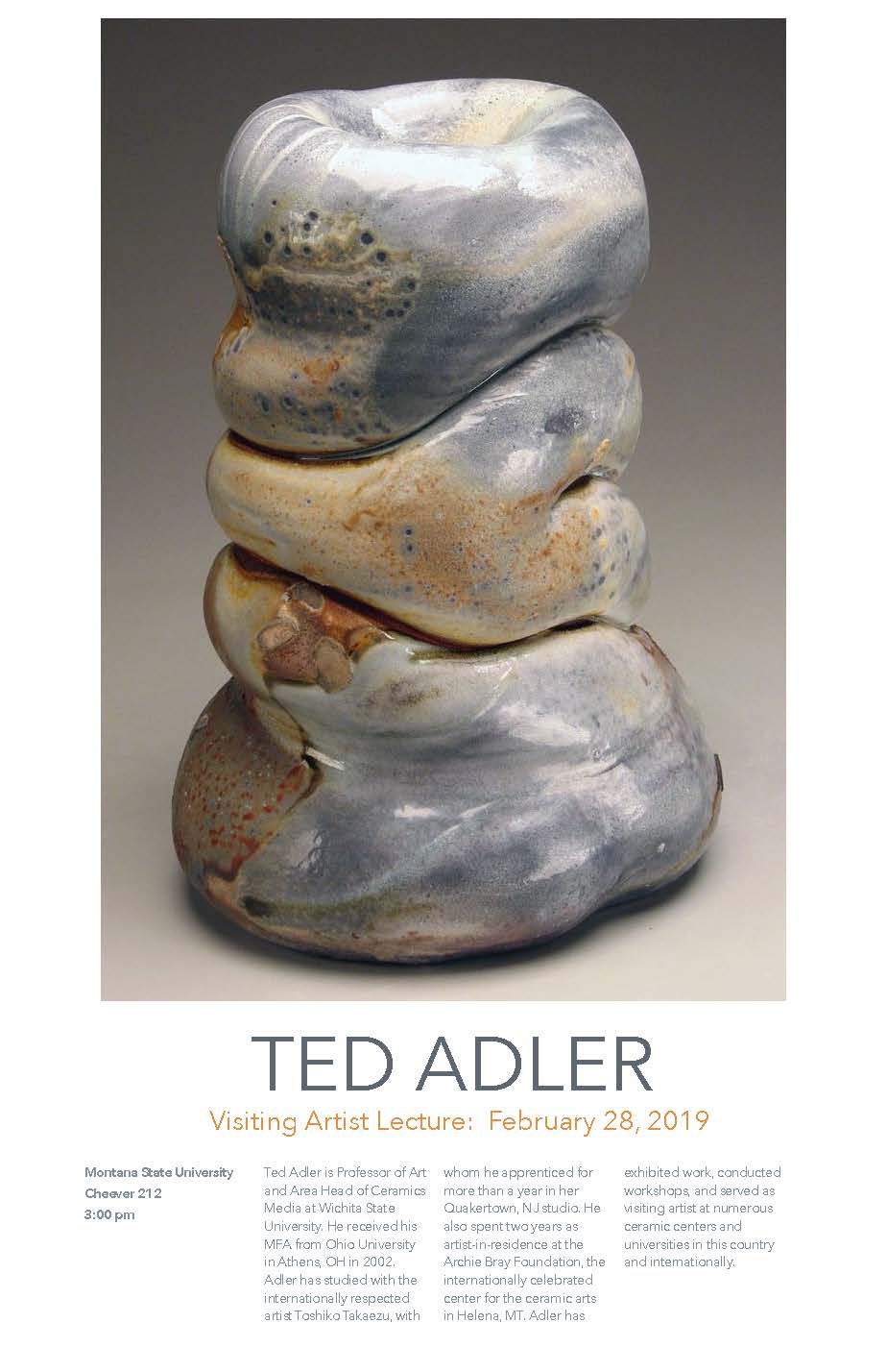 Visiting Artist Ted Adler