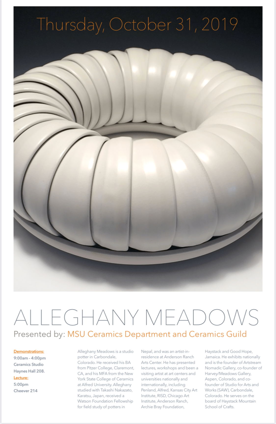 Visiting Artist: Allegheny Meadows